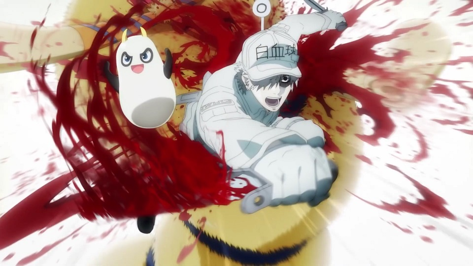 Anime Yang Mengajarkan Ilmu Pengetahuan hataraku saibo